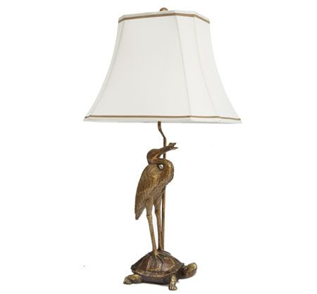 Bombay & Co, Inc. :: LIGHTING :: Table Lamps :: Tortoise & Crane Table Lamp