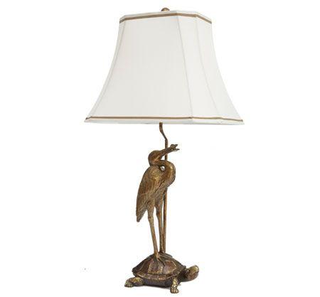 Bombay & Co, Inc.::LIGHTING::Table Lamps::Tortoise & Crane Table Lamp