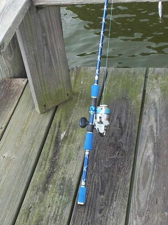 Fishing and fishing poles on pinterest for Custom fishing poles