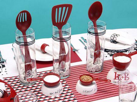 centros de mesa te de cocina - Buscar con Google: