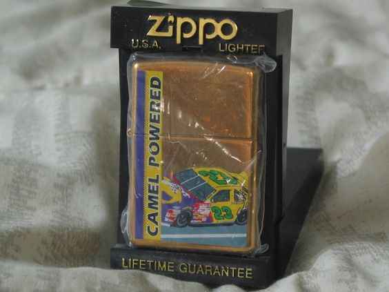 ZIPPO Smoking Joe's Jimmy Spencer Nascar 1990's Cigarette Cigar Lighter  1.8P722B48717JUNK0207,08,09   http://ajunkeeshoppe.blogspot.com/