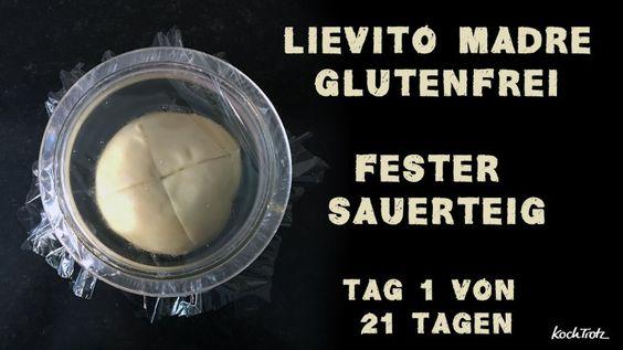Projekt: glutenfreier Lievito Madre zum Mitmachen - Tag 1. Einsteigen ist jederzeit möglich.