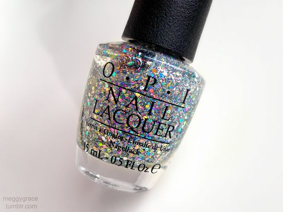 "meggygrace: ""OPI's ""Desperately Seeking Sequins"" """