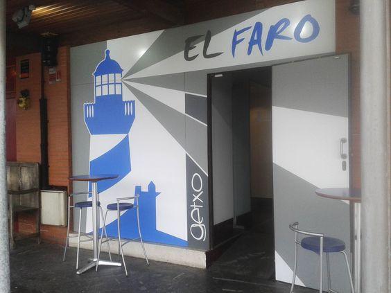 Cafeteria El Faro ouerto deportivo Getxo