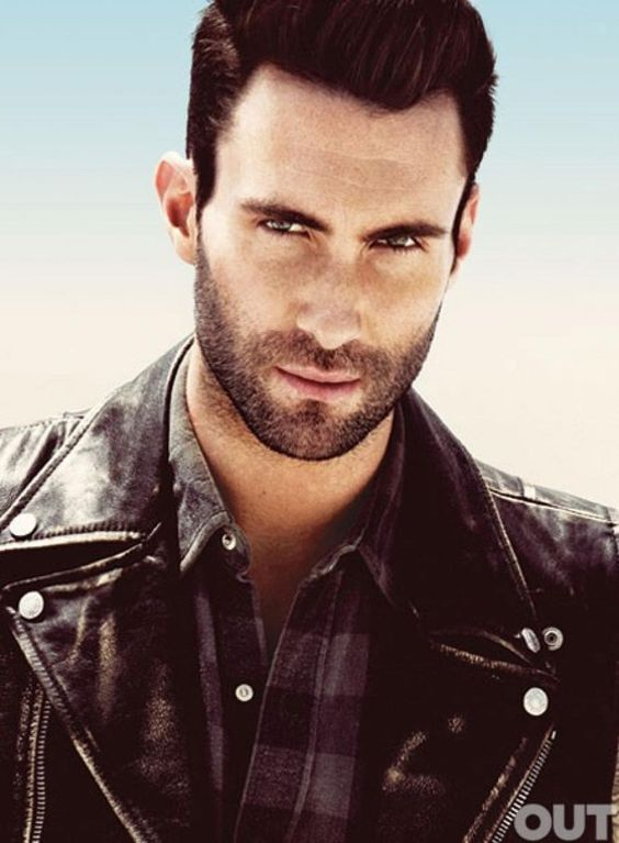 Pin for Later: You Can't Help but Appreciate Adam Levine's Good Looks When He Stared Straight Into Your Soul