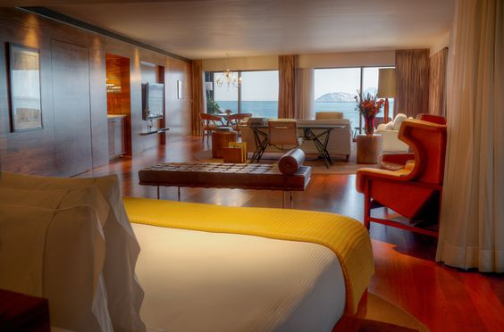 Deluxe suite. Hotel Fasano Rio De Janeiro. Elegant sophistication in Ipanema. By Hotelied.