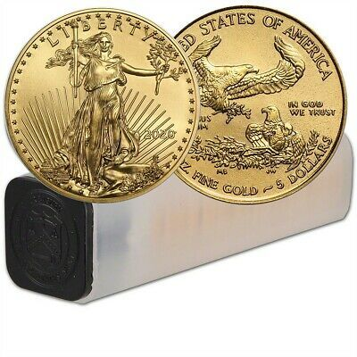 Lot Of 50 2020 1 10 Oz Gold American Eagle Coin Bu In Us Mint Tube In 2020 Gold Eagle Coins Eagle Coin Gold American Eagle