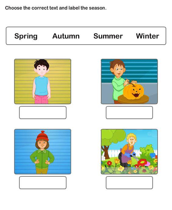 Seasons Worksheet 2 science Worksheets kindergarten Worksheets – Seasons Worksheet Kindergarten