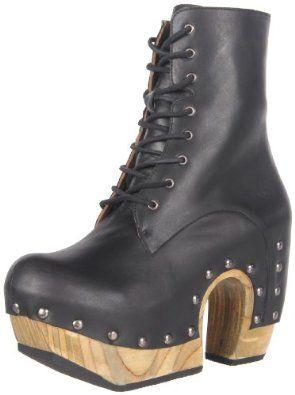 Amazon.com: John Fluevog Women's Rainbow Boot: Shoes