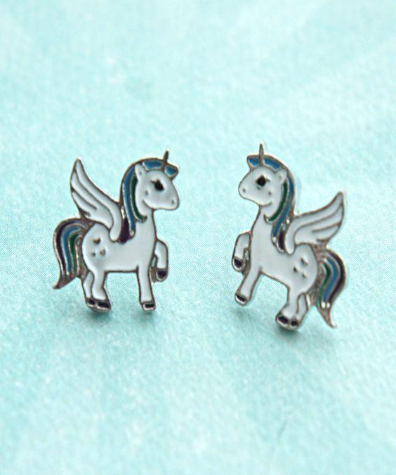 Unicorn Earrings!! I so love these!!