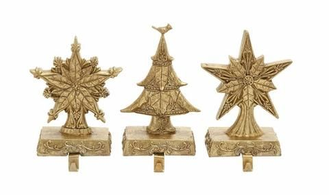 Embellish your living space in the best way by including this marvelous 3 Assorted Stocking Holder.
