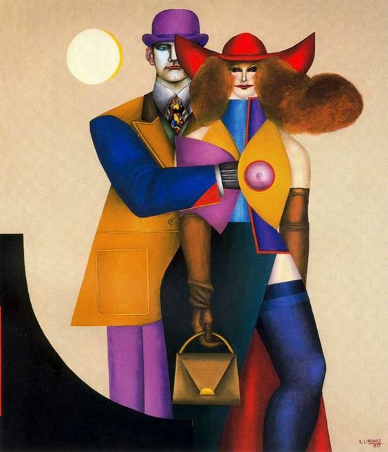 richard lindner 'the couple'