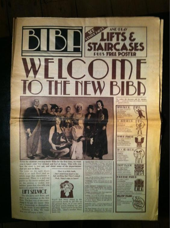 Welcome to the new BIBA