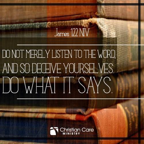 Yakobus 1:22