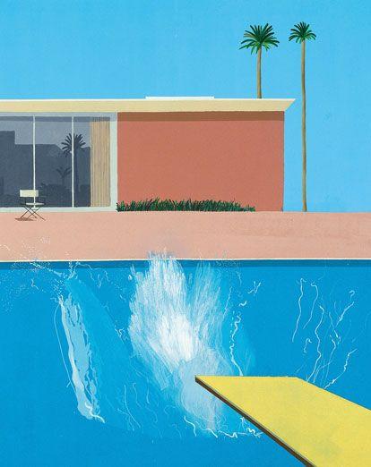The Bigger Splash by David Hockney