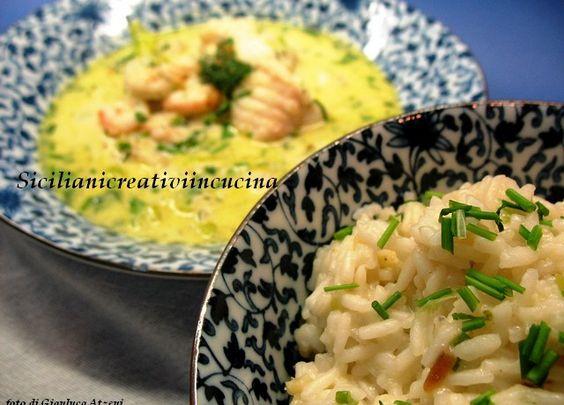 Zuppa thai di pesce e latte di cocco