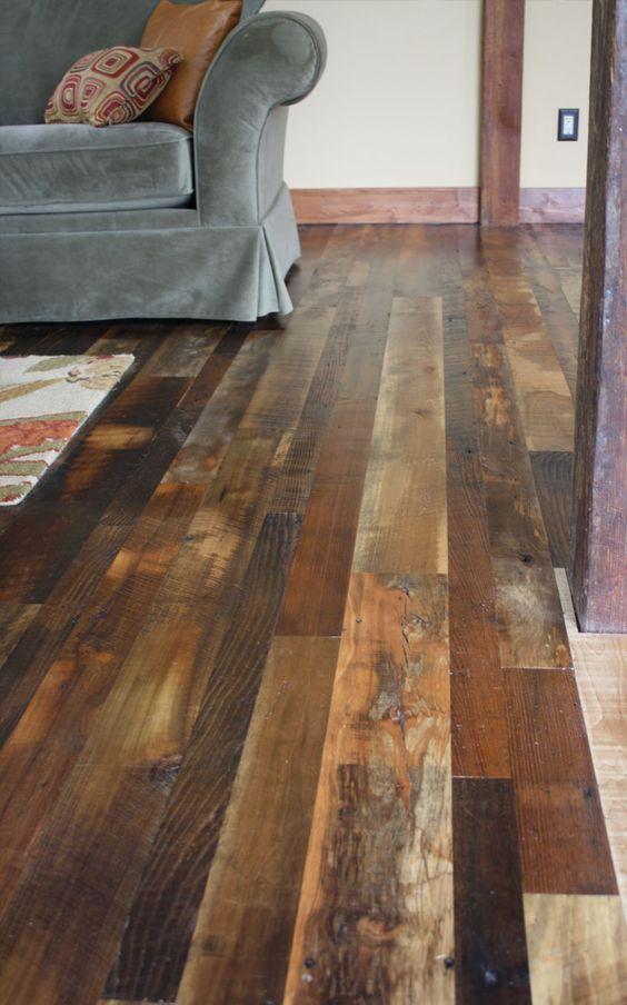 Reclaimed Antique Flooring: Homestead Distressed - Mountain Lumber