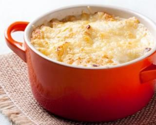 Lasagnes en mini cocottes : http://www.fourchette-et-bikini.fr/recettes/recettes-minceur/lasagnes-en-mini-cocottes.html