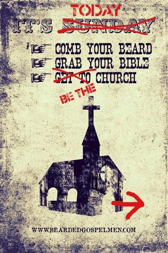 It's Today!   bearded gospel men