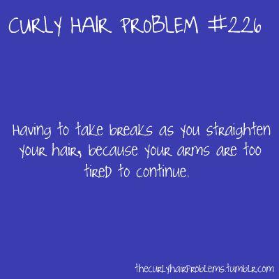 curly hair problem