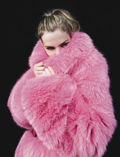 pink fur: Fur Coats, Faux Fur Coat, Hot Pink, Pink Pink, Color Pink, Pink Fur