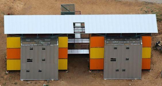 Já vimos por aí diversas aplicações de construções com container  nas quais inclui grandes prédios, desta vez, a Container SA traz alguns ex...