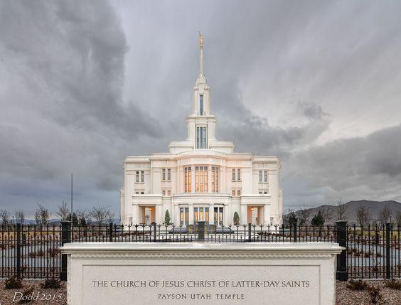 Payson Utah Temple - Bofus Focus - Annie & Dodd