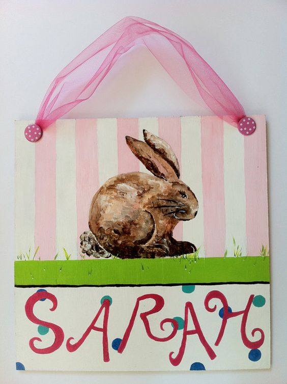 Adorable bunny Painting