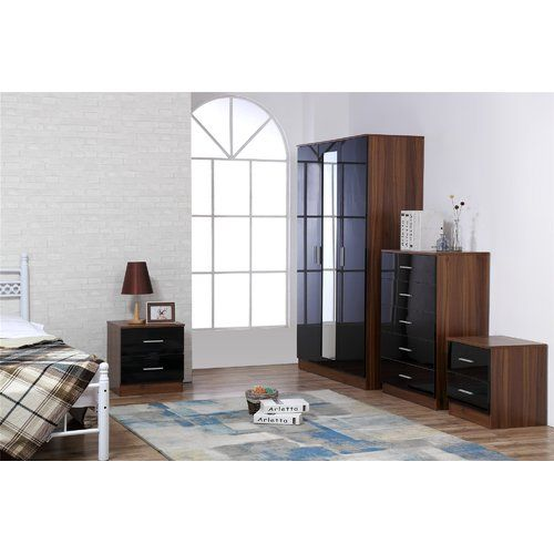 Zipcode Design Eva 4 Piece Bedroom Set Bedroom Furniture