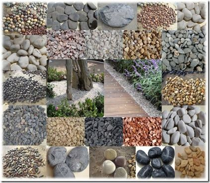 Piedras de r o para decorar el jard n para jardinear for Piedras para jardin
