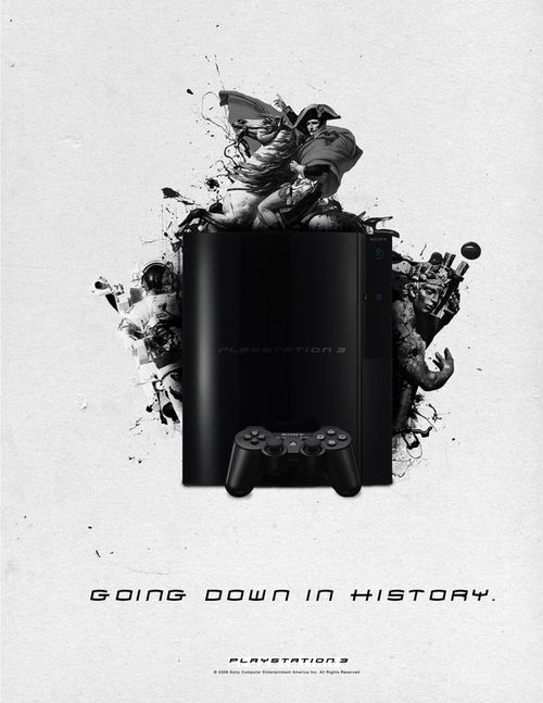 Going down in history    Playstation 3