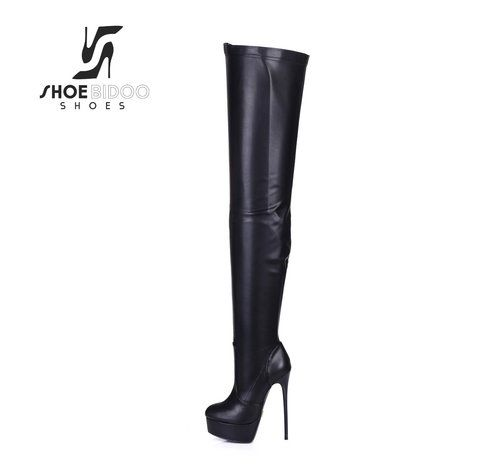 Giaro MIATLA black ankle high boots with lace up