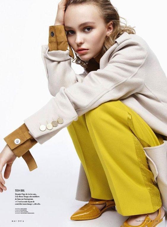Лили Роуз Депп в Vanity Fair France (Интернет-журнал ETODAY)