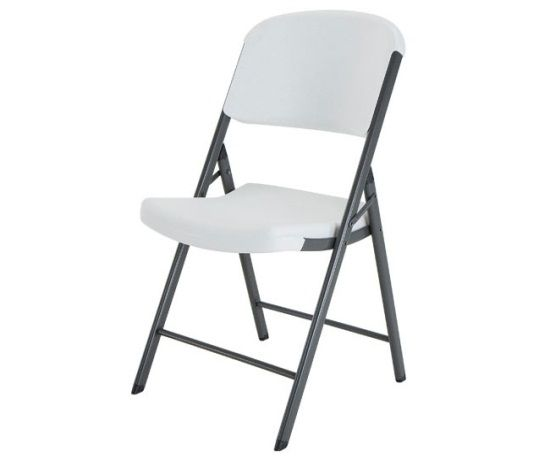 Lifetime Folding Chair 22802 Single Pack White Granite Chair Plastic Folding Chairs Folding Chair Granite Chairs
