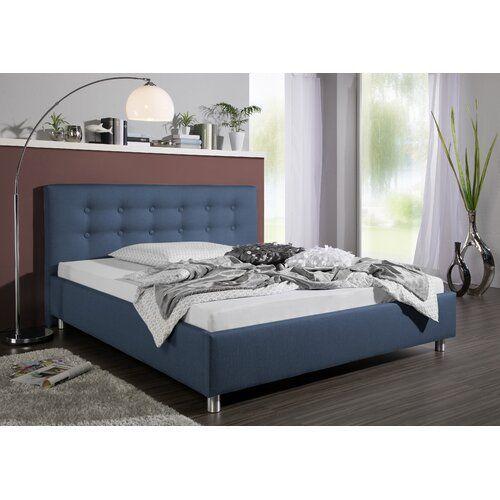 Livingroom Polsterbett Caenas Modernmoments Farbe Blau Liegefläche 160 X 200 Cm Upholstered Beds Bed Bed Frame And Headboard