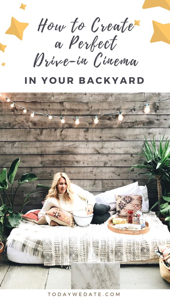 The Ultimate Guide To Creating A Perfect Backyard Movie Night backyard movies//backyard movie screen /movie night ideas outdoor /outside movie screen /movie night ideas outdoor /outside movie screen /movie night ideas /outside movie night /movie night /movie themed party/outdoor movie ideas /outdoor movie diy /outdoor cinema//outdoor cinema/outdoor theater/backyard movie/diy outdoor movie screen