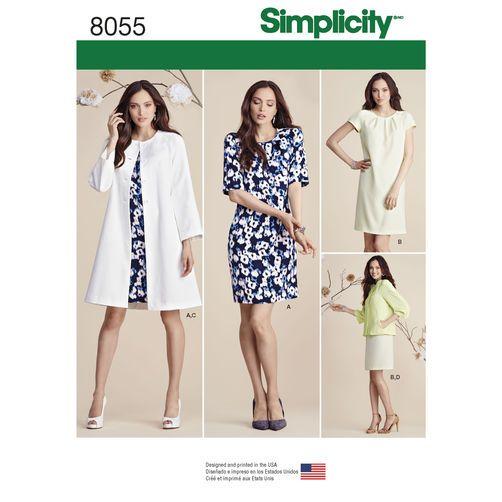 Resultado de imagen de simplicity patterns 8055