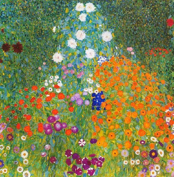 austrian painter gustav klimt gardens credits garden design by carolyn mullet