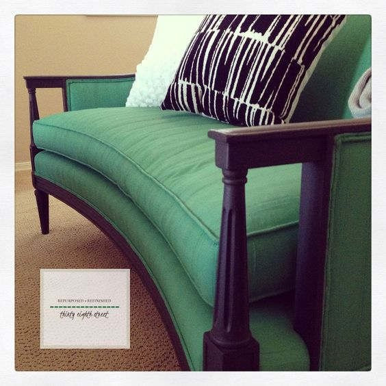 Painting Upholstery: Chalk Paint(R) decorative paint by Annie Sloan