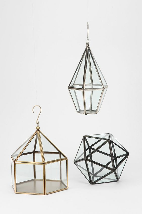 Faceted Hanging Terrarium - Urban Outfitters