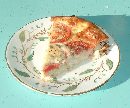 Crustless Tomato Quiche Recipe - Food.com