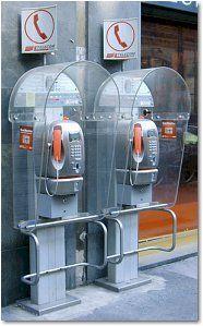 public phones in Italy
