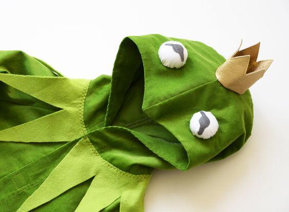Frosch - Kostüm 2-8 Jahre