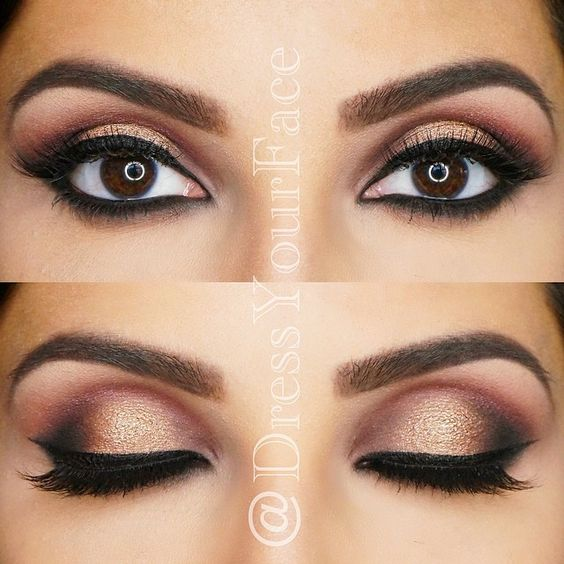 Bridal Eye Makeup 2018 Step By Step : Irina Golomazdina @golomazdina #12storeezInstagram photo ...
