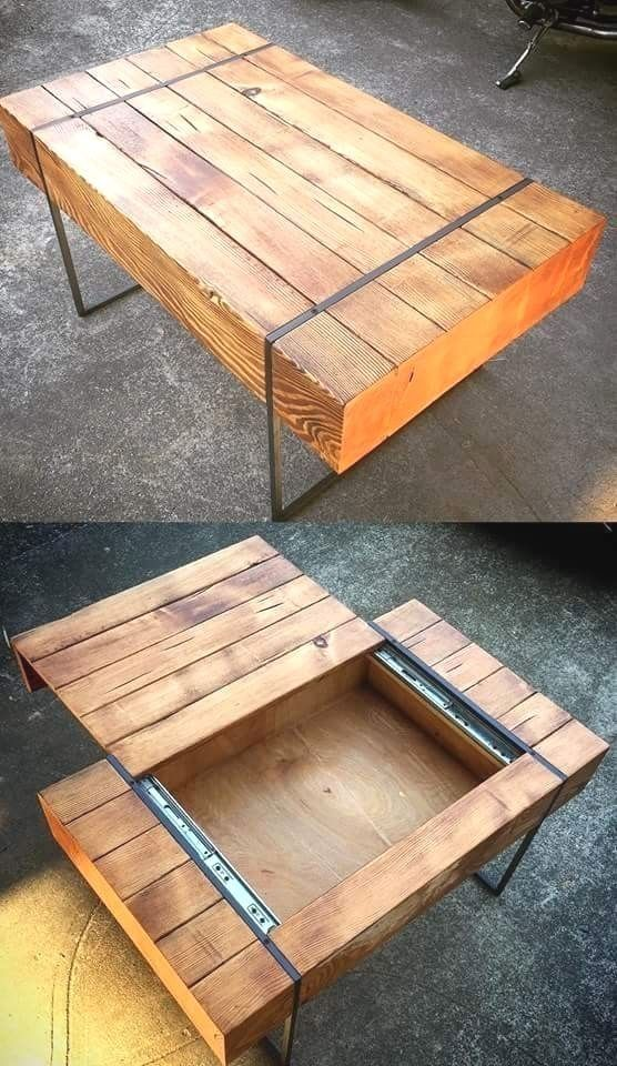 This Would Be A Cool Idea For Making A Side Table With Hidden