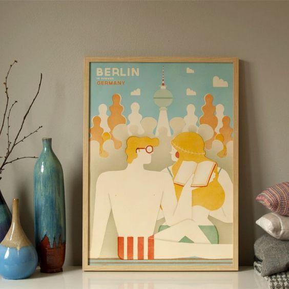 Human Empire Berlin Poster