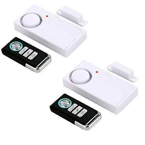 Hendun Wireless Remote Door Alarm Windows Open Alarms Magnetic Security Sensor Pool Door Alarm For K In 2020 Door Alarms Child Door Safety Home Security Alarm System