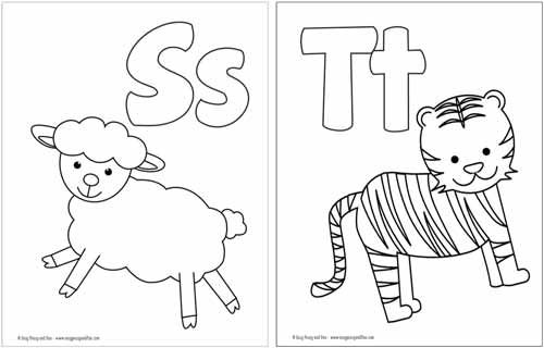 Free Printable Alphabet Coloring Pages Easy Peasy And Fun Alphabet Coloring Pages Alphabet Printables Alphabet Coloring