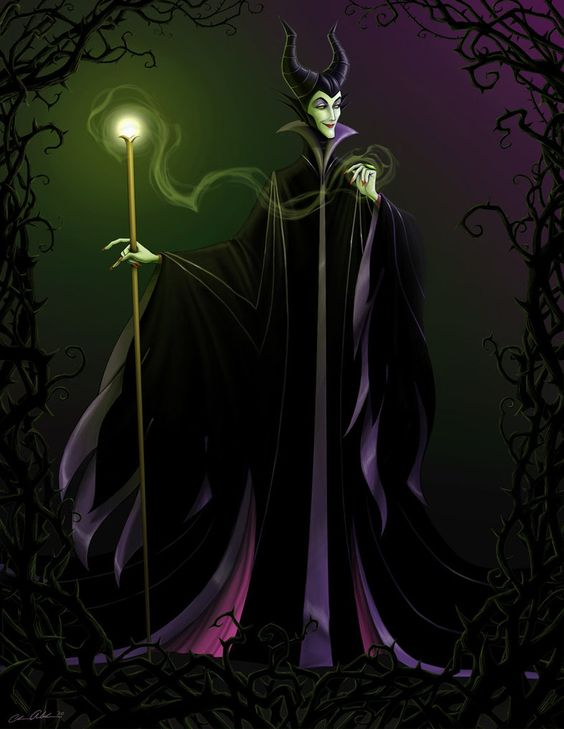 Maleficent... my most favorite villainess of all time.