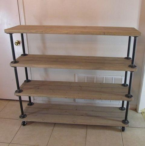 Reclaimed Wood Shelves Wood Shelves And Shelves On Pinterest